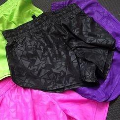 G.LIMITROCK - Drawstring Sport Shorts