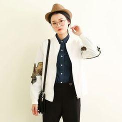 三木社 - 刺绣棒球外套
