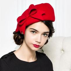 BADA - Ribbon Wool Beret