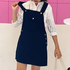 Eva Fashion - Denim Jumper Skirt