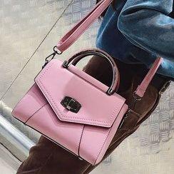 Youshine - Twist Lock Shoulder Bag