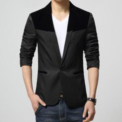 JIBOVILLE - Color-Block Blazer