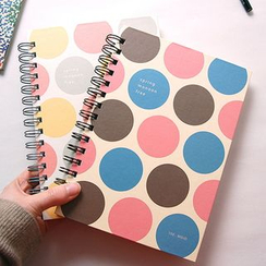 LIFE STORY - Polka-Dot Spring Note Book (A5)