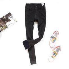 Tulander - Fleece-lined Skinny Pants