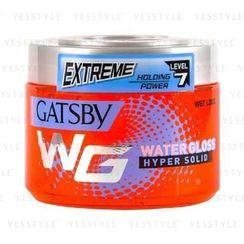 Mandom - Gatsby Water Gloss Wet Look Gel (Hyper Solid) (Red)