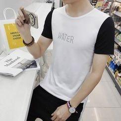 JVR - Short-Sleeve Color-Block T-Shirt
