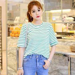 DEEPNY - Colored Stripe T-Shirt