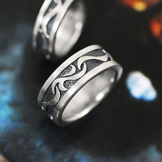 Sterlingworth - Hand Made Engraved Sterling Sliver Ring