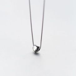 A'ROCH - 925 Sterling Silver Heart Sterling Silver Necklace