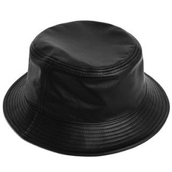 Hats 'n' Tales - Faux-Leather Bucket Hat