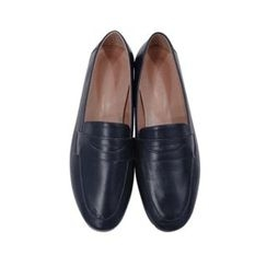 maybe-baby - Faux-Leather Penny Loafers