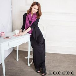 TOFFEE Pocket-Front Maxi Dress