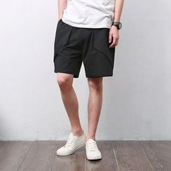 Mrlin - Linen Drawstring Shorts