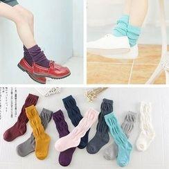 Azalea - Kids Ruched Socks