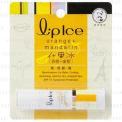 Mentholatum - Lipice Lip Balm SPF 15 (Orange + Mandarin)