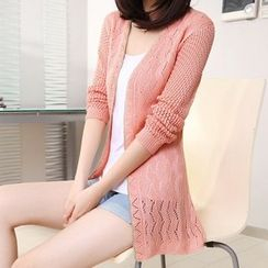 Hibisco - Long Cardigan