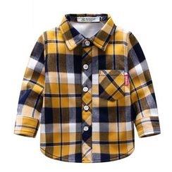 Endymion - 婴儿格纹衬衫