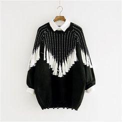 Storyland - Tasseled Long Sweater