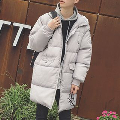 Soulcity - Hooded Long Padded Coat