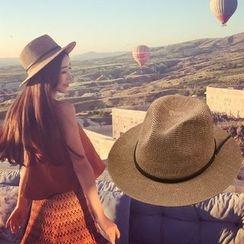 M.O.H - 扣帶稻草禮帽