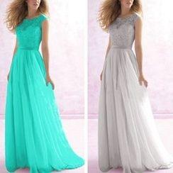 Katemi - Lace Evening Gown