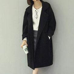 Moon City - Woolen Long Coat