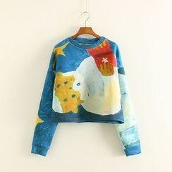 Mushi - Print Pullover