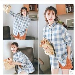YOSH - Plaid Long Shirt