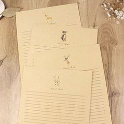 Cute Essentials - Writing Sheets Set (10 pcs)