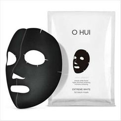 O HUI - Extreme White 3D Black Mask Set