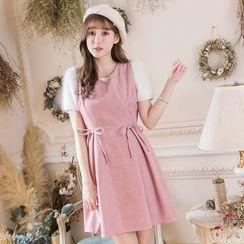 Tokyo Fashion - Bow-Accent A-Line Dress