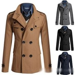 Hansel - Double-breasted Trench Coat