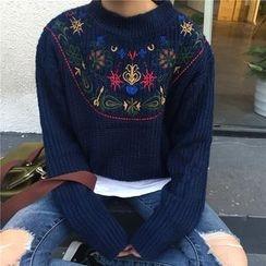 Dasim - 刺繡粗織毛衣