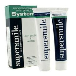 Supersmile - Professional Whitening System: Toothpaste 41.5g + Accelerator 34g