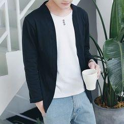 Danjieshi - Mock Two-Piece Long-Sleeve T-Shirt