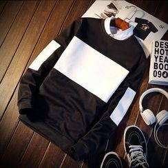 T for TOP - Panel Pullover