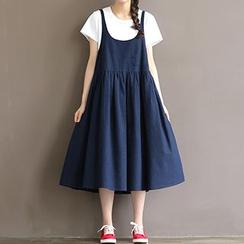 chome - 孕妇背带裙