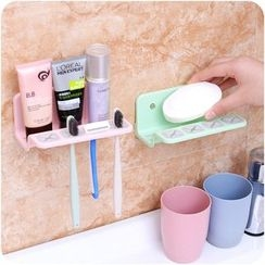 Eggshell Houseware - Wall Toothbrush Holder