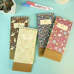 MissYou - Floral Print Desktop Planner (S)