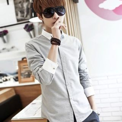 Fireon - Contrast Long-Sleeve Shirt