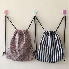 Bundle of Joy - Canvas Drawstring Backpack