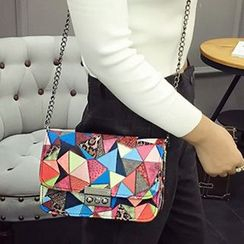 Youme - Color Block Shoulder Bag