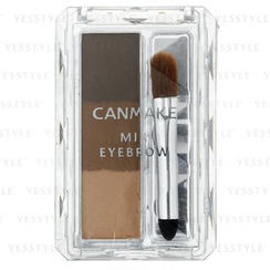 Canmake - Mix Eyebrow (#02 Natural Brown)