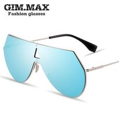 GIMMAX Glasses - Mirrored One Piece Sunglasses