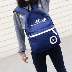 Seok - Color Block Backpack
