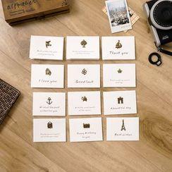 Cute Essentials - Applique Greeting Card