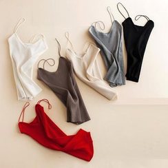 OVE - Ribbed Knit Camisole Top
