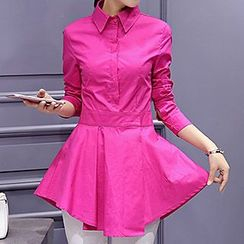 Romantica - Long-Sleeve Ruffle Shirt