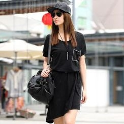 SO Central - T-Shirt Dress (Belt not Included)