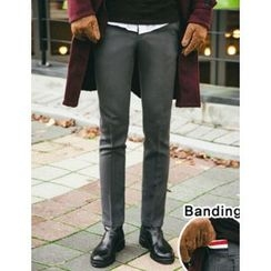 STYLEMAN - Flat-Front Pants